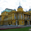 Croatian National Theatre in Zagreb Zagreb  Croatia
