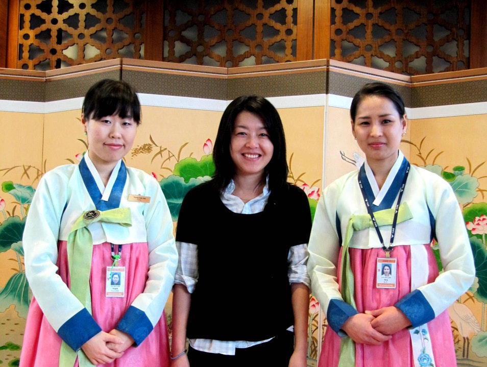 Korean Cultural Centers at the Airport!