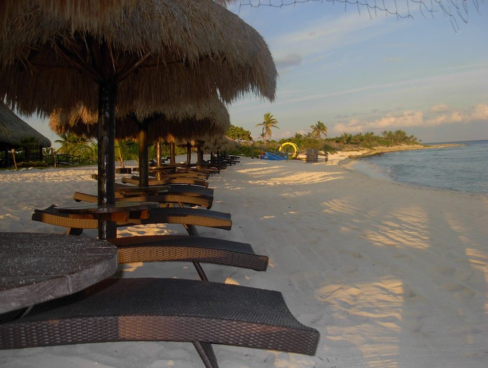 Secluded Beach Club with Watersports, Restaurant