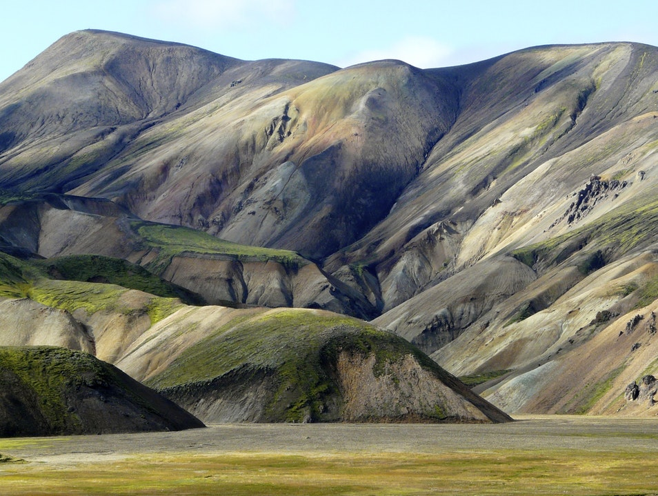 Landmannalaugar—Rainbow Mountains South  Iceland