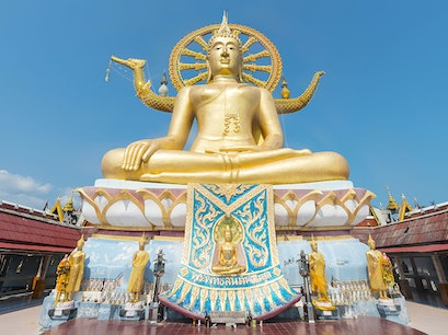 Temple of the Big Buddha Ko Samui  Thailand