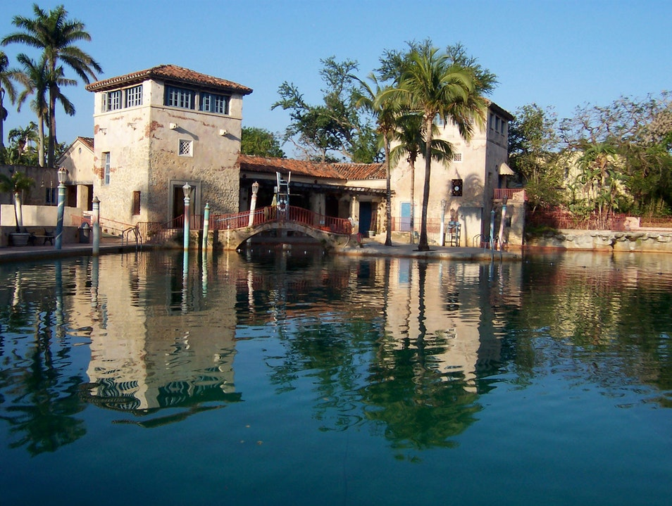 Swim in a Historic Natural Springs Pool Coral Gables Florida United States