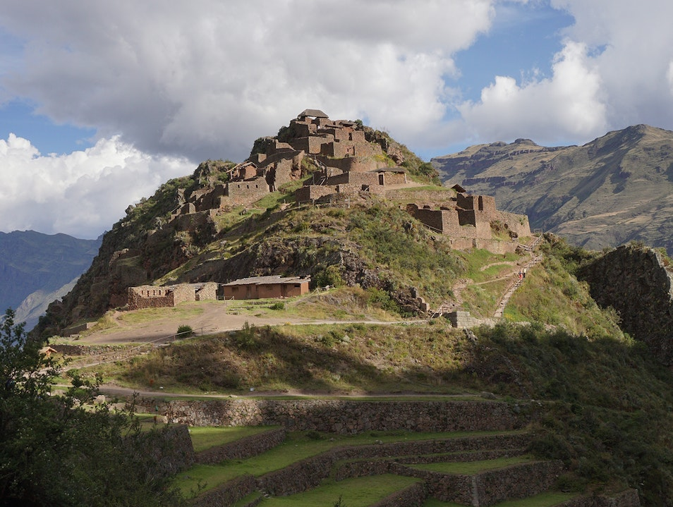 Pisac Archaeological Site Pisac  Peru