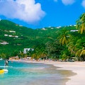 Cane Garden Bay Beach Tortola  British Virgin Islands