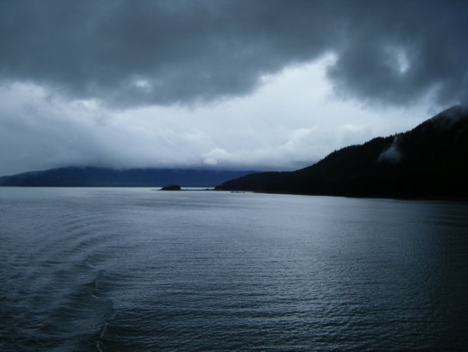 Alaska Waters at Dusk Juneau Alaska United States