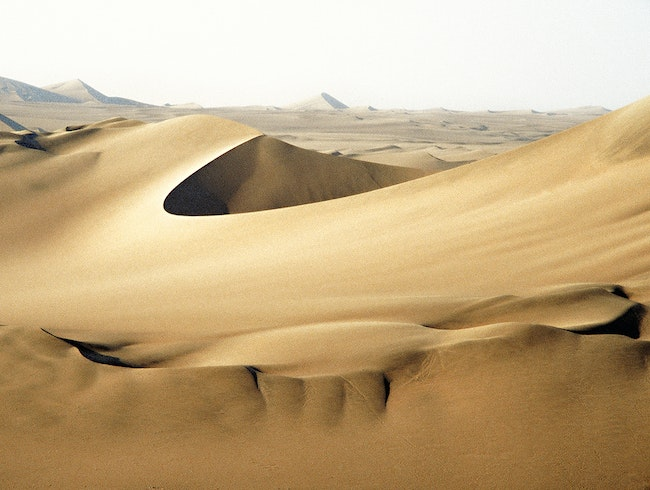 Get Lost in the Peruvian desert!
