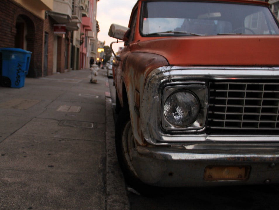 Truck in The Mission