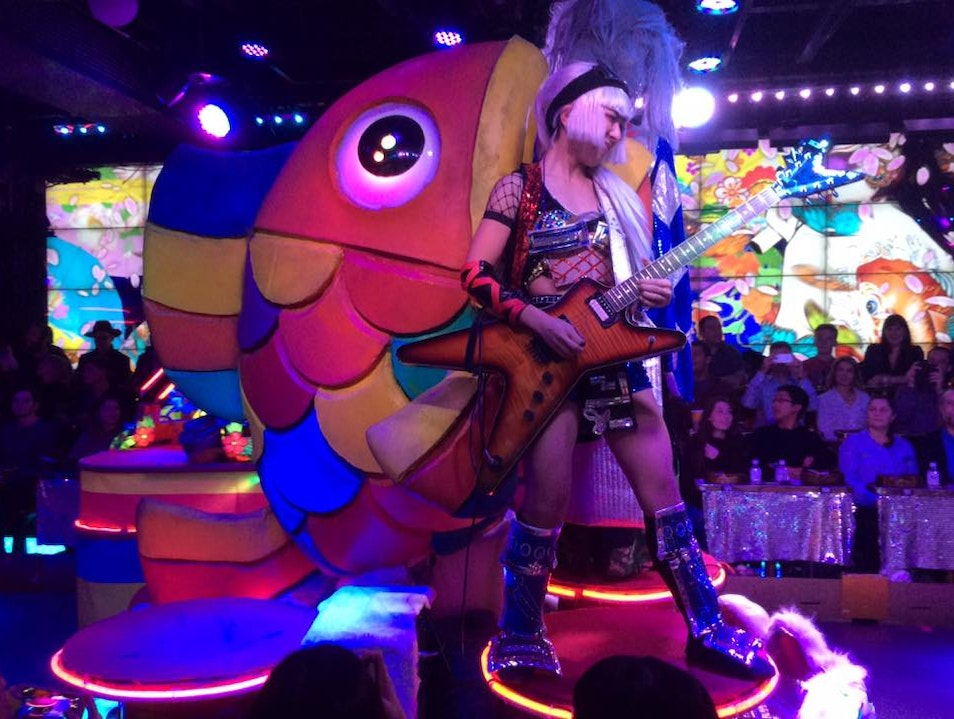 The Robot Restaurant is a Must Do!