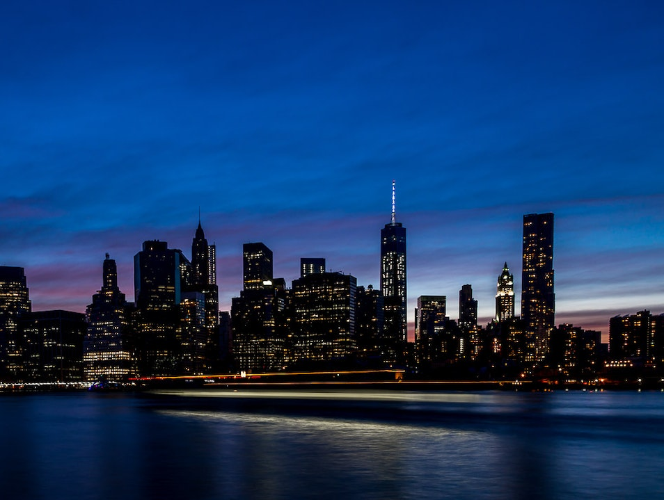 Where to Find a Glorious View of the Manhattan Skyline  New York New York United States