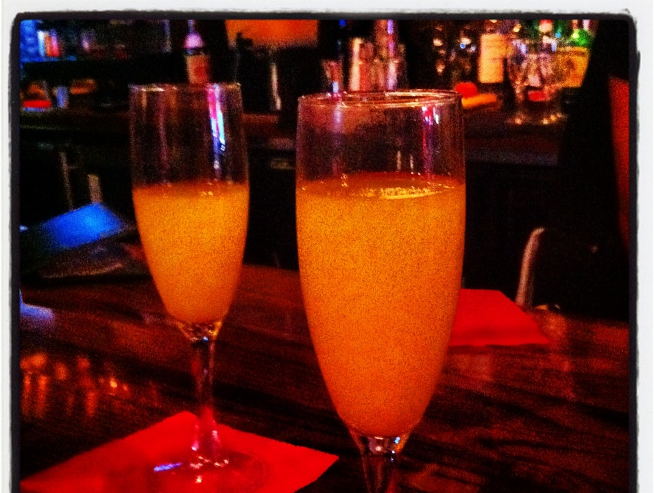 Mimosas and Bellinis for $1: Brunch in Taverna Austin Texas United States