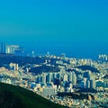 Peak from Jeonpo to Gwangalli Busan  South Korea