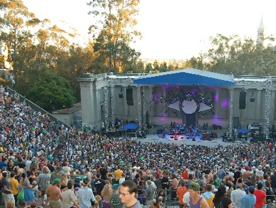Great Concert Venue: Greek Theatre Berkeley California United States