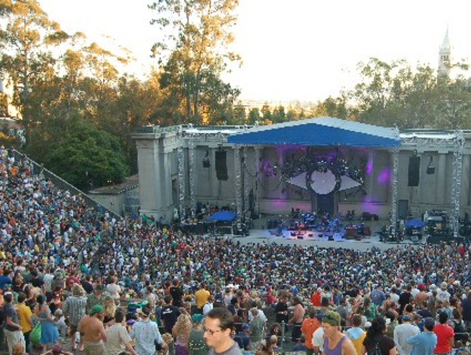 Great Concert Venue: Greek Theatre