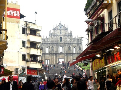 Ruins of St. Paul's Church Macau  Macao