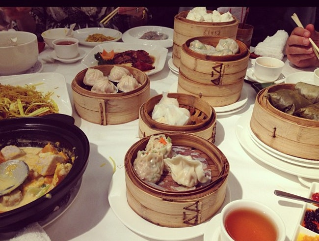 Ordering Too Much Dim Sum at Laurel