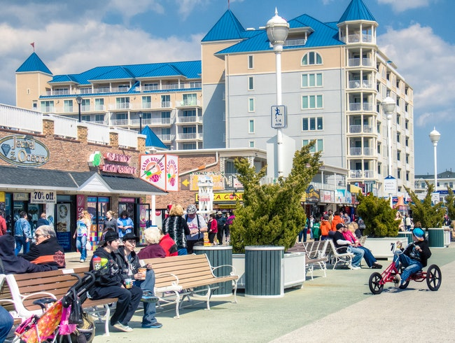 Maryland's Ocean City Boardwalk