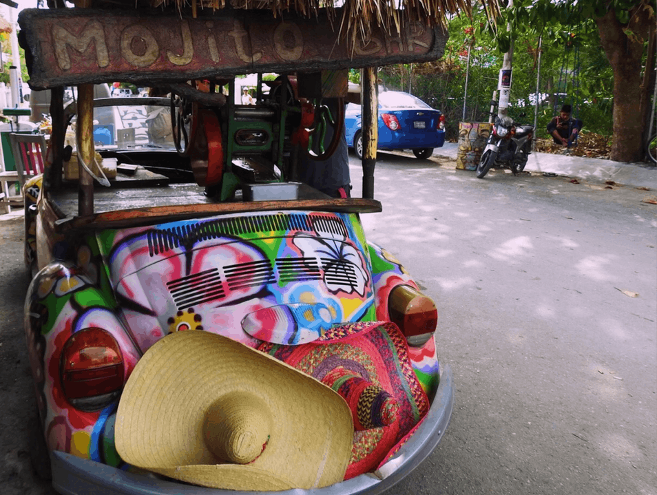 A Fun Mojitos VW! Tulum  Mexico