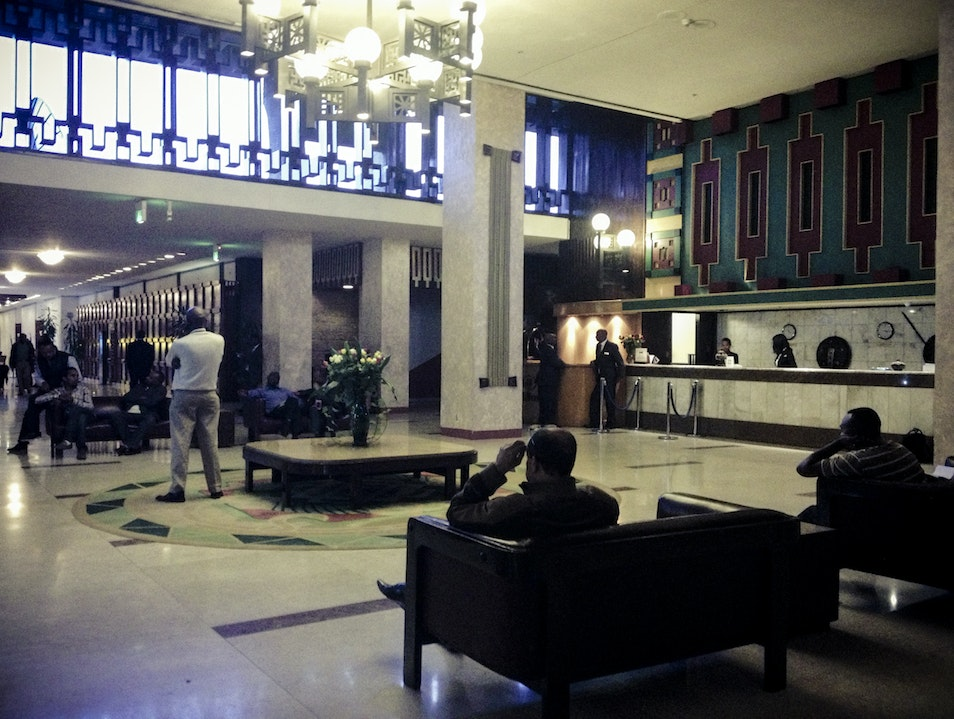 The Hilton Compound and International Intrigue Addis Ababa  Ethiopia