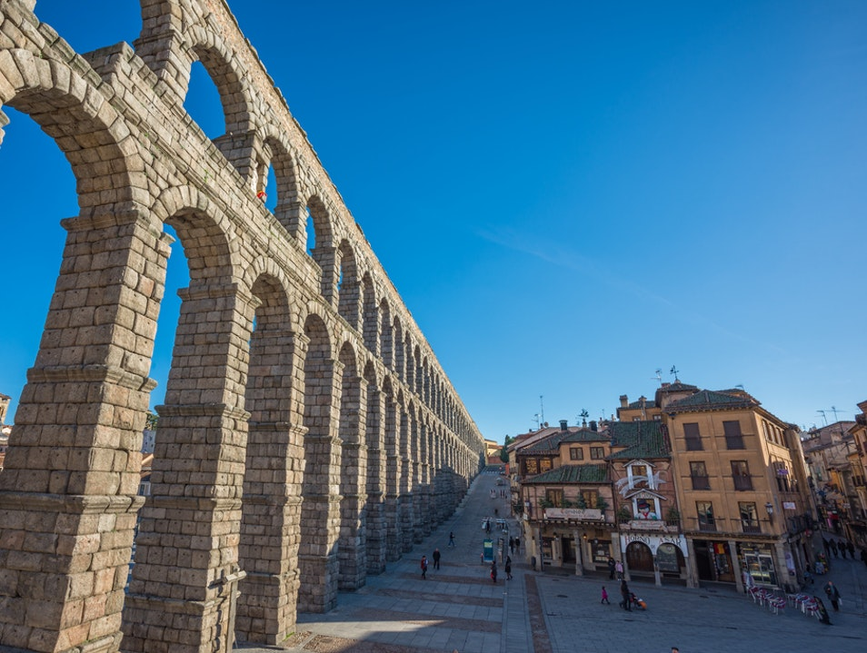 Spend the Day the Segovian Way Segovia  Spain