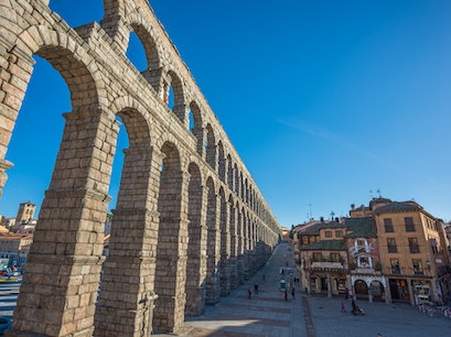 Aqueduct of Segovia Segovia  Spain