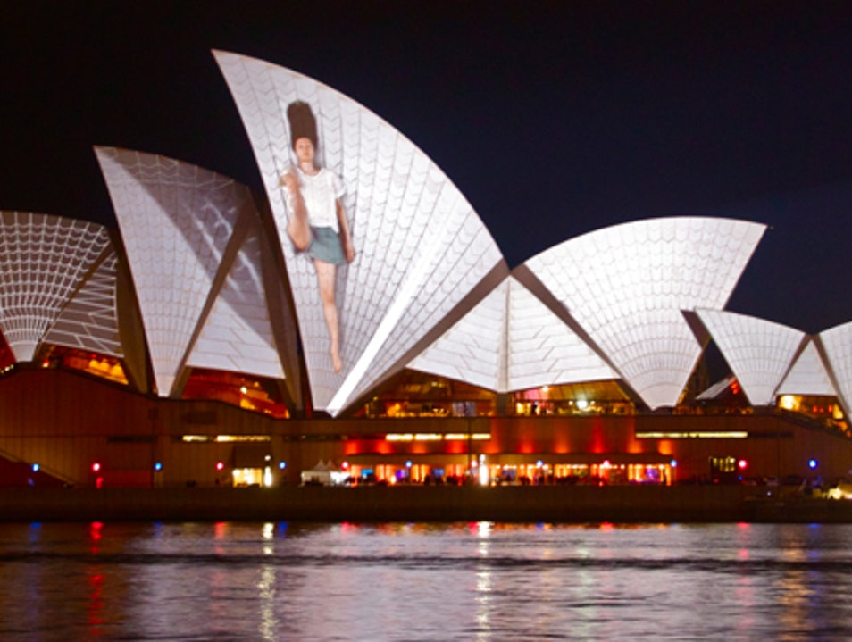 Vivid Sydney: When a City Becomes a Playground for the Senses The Rocks  Australia