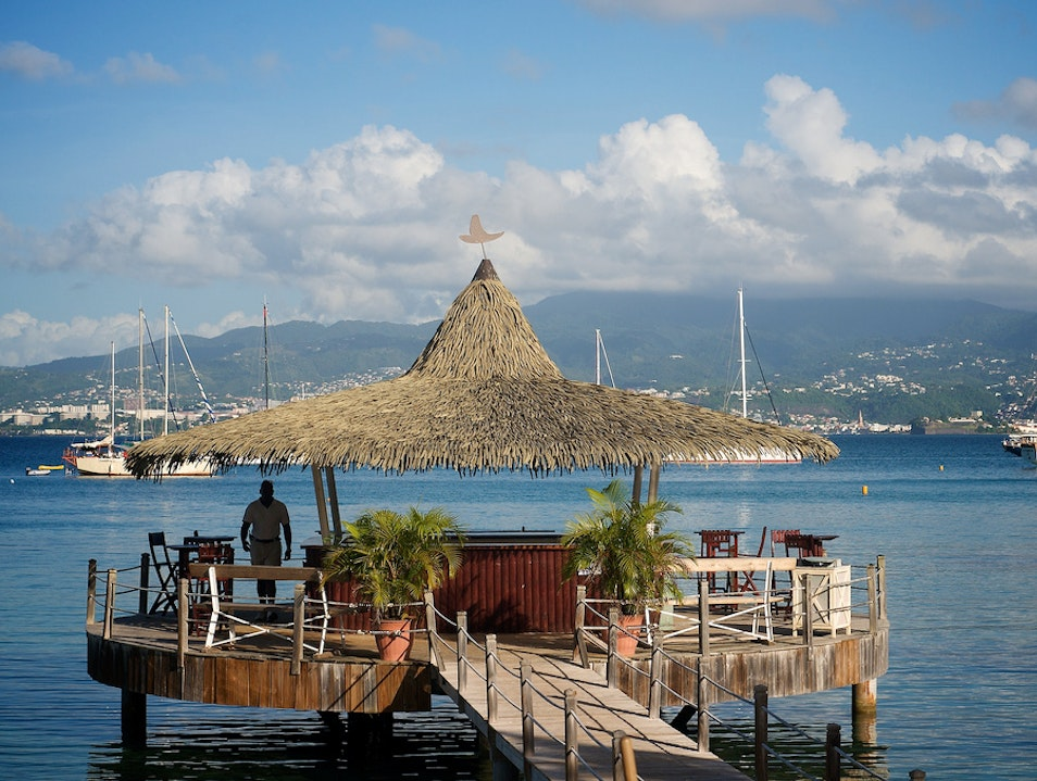 One Iconic Beach Bar in Martinique