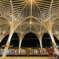 Gare do Oriente Lisbon  Portugal