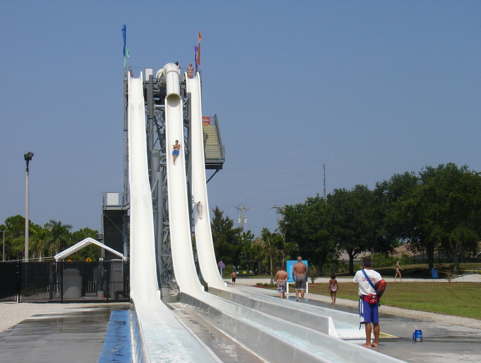 Beat the Heat at Sun Splash Water Park Cape Coral Florida United States
