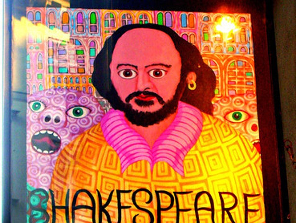 Shakespeare Bookstores - they're everywhere! Vienna  Austria
