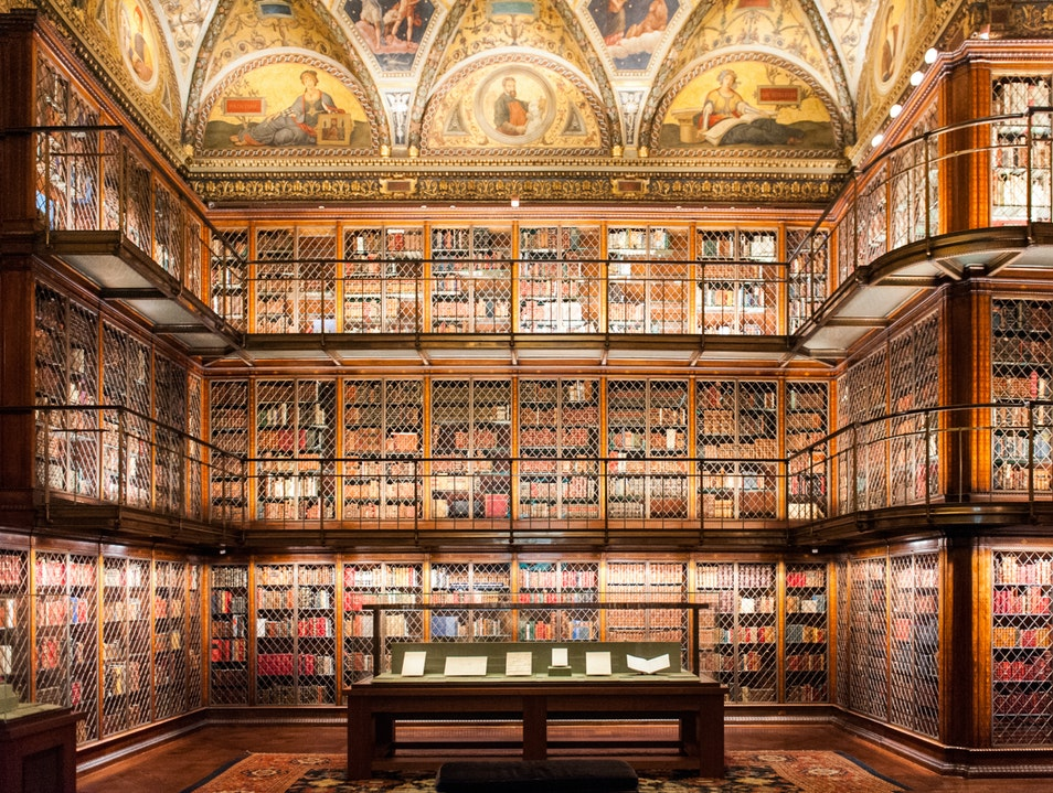 JP Morgan's Old-World Library