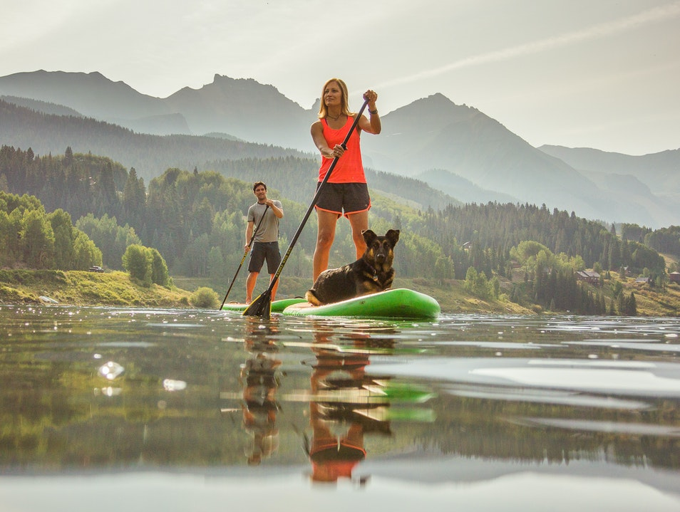 Stand-up Paddleboarding Telluride Colorado United States