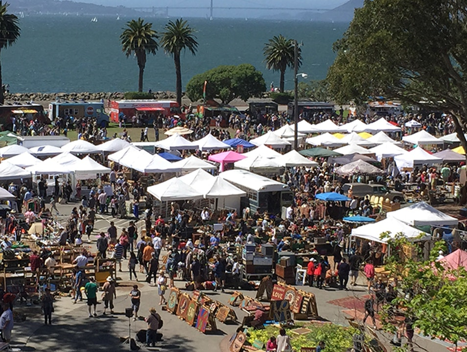 Treasure Island Flea San Francisco California United States
