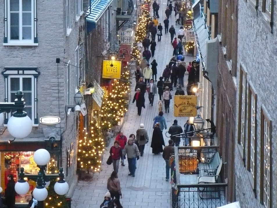 Welcomed by the atmosphere of Quebec City