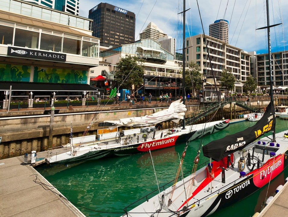 America's Cup Sail Auckland  New Zealand