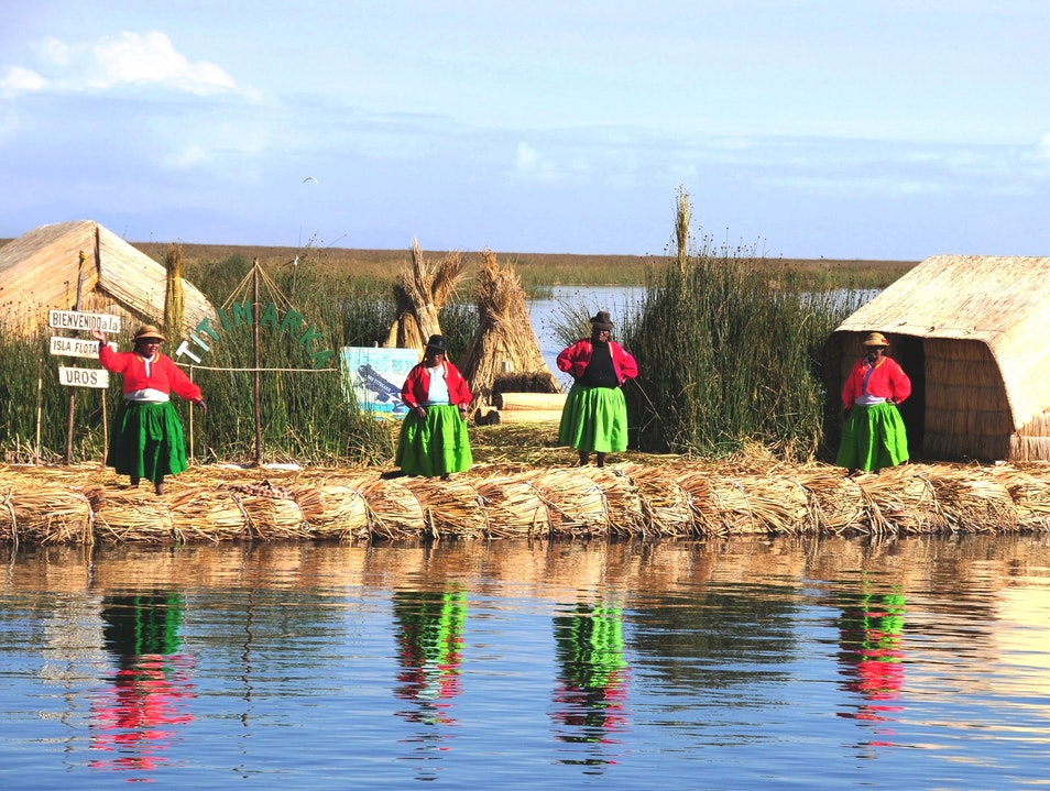 Visit the One-of-a-Kind Uros Islands on Peru's Lake Titicaca Puno Region  Peru