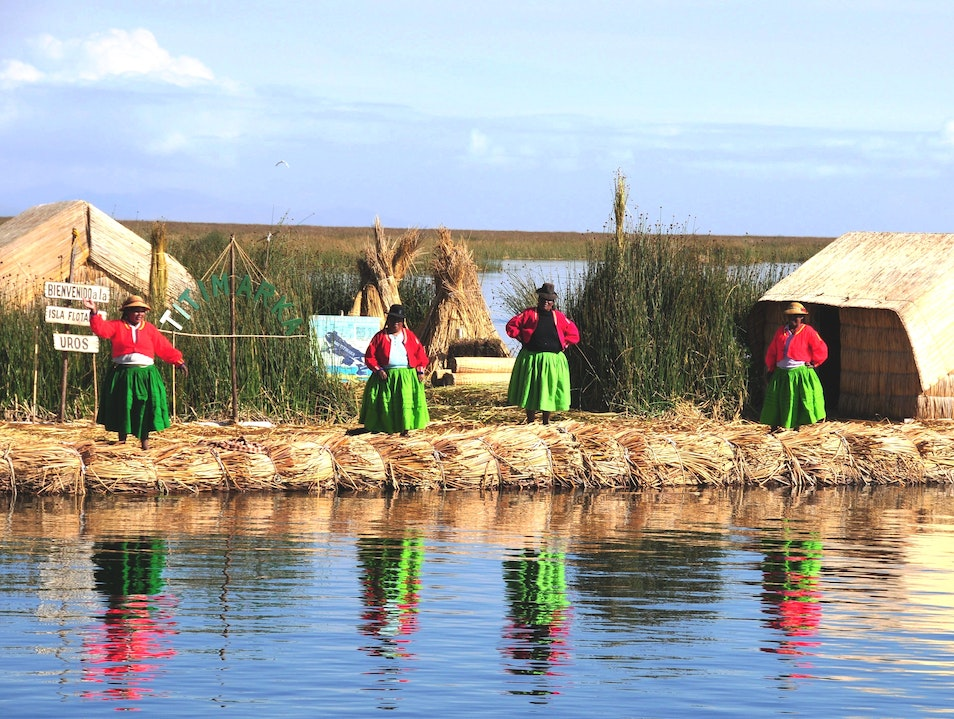 Visit the One-of-a-Kind Uros Islands on Peru's Lake Titicaca