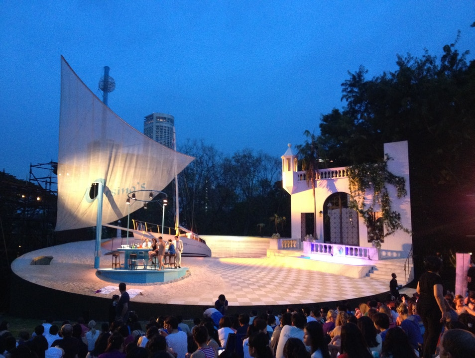 Shakespeare in the Park Singapore  Singapore