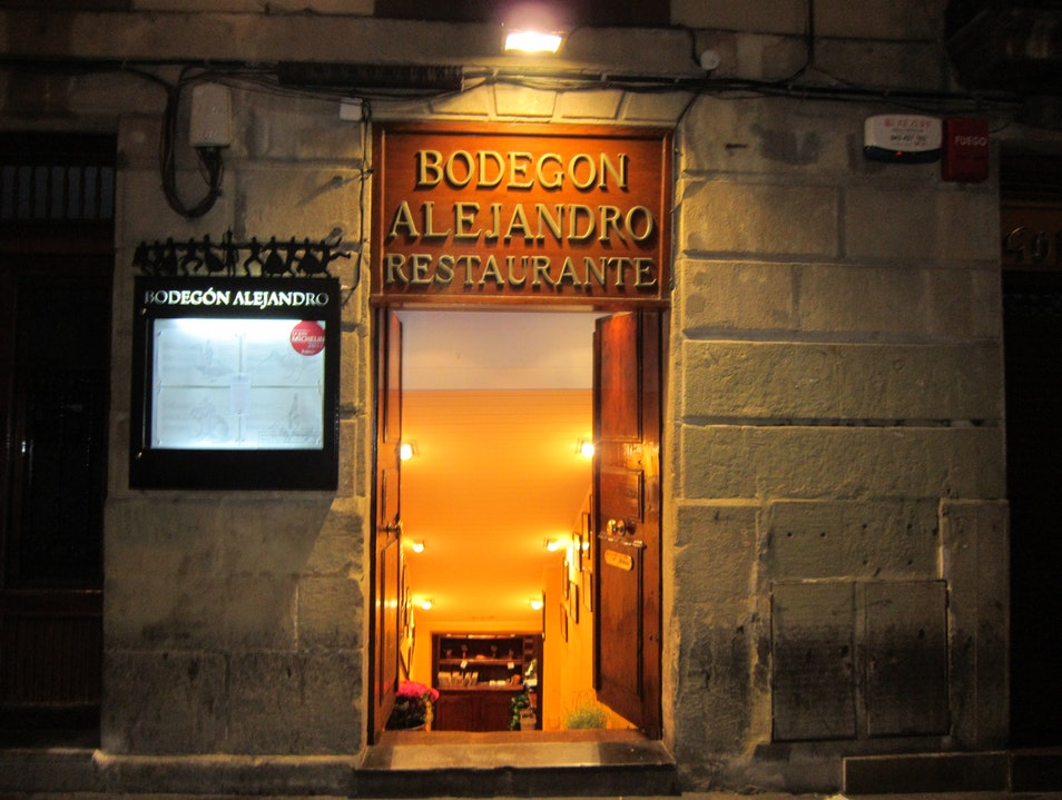 Authentic, Modern Dinner in San Sebastian San Sebastian  Spain