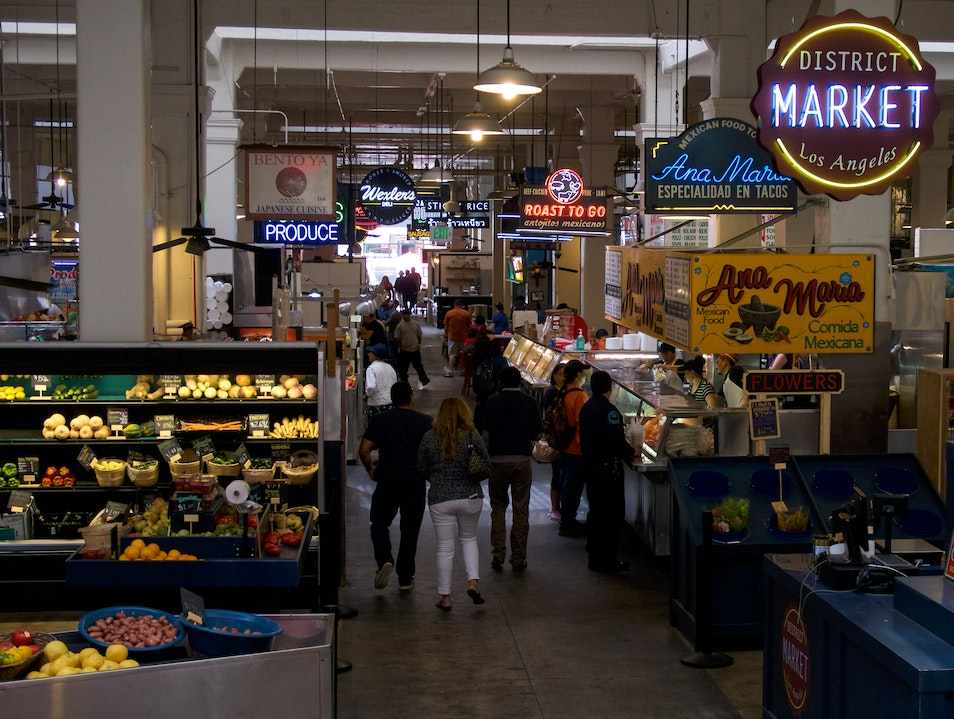Grand Central Market Los Angeles California United States