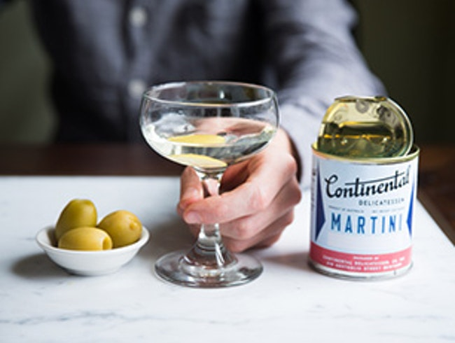 Canned Martinis Are the Speciality of This Bar-Meets-Deli