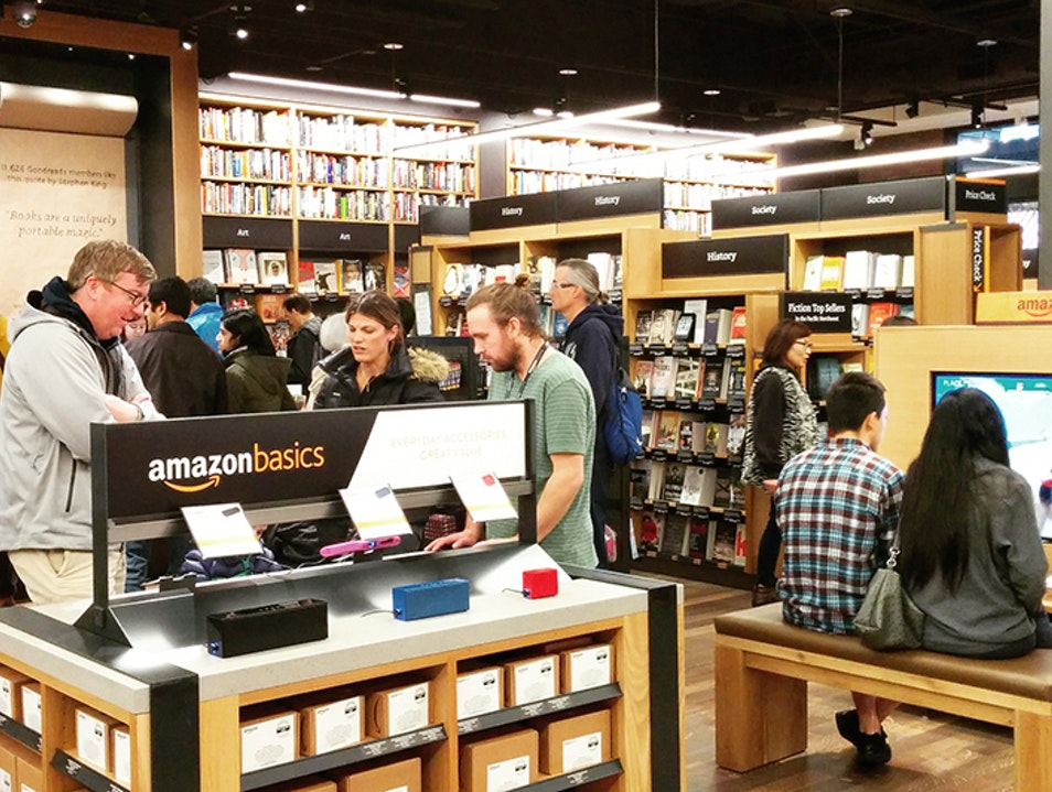 Visit Amazon's First Bookstore Seattle Washington United States