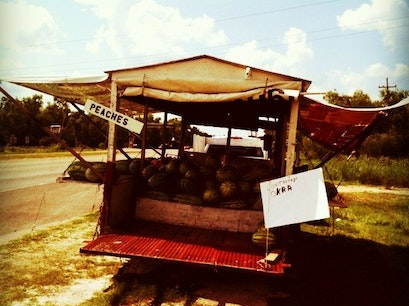 Traveling Fruit Stand Gramercy Louisiana United States