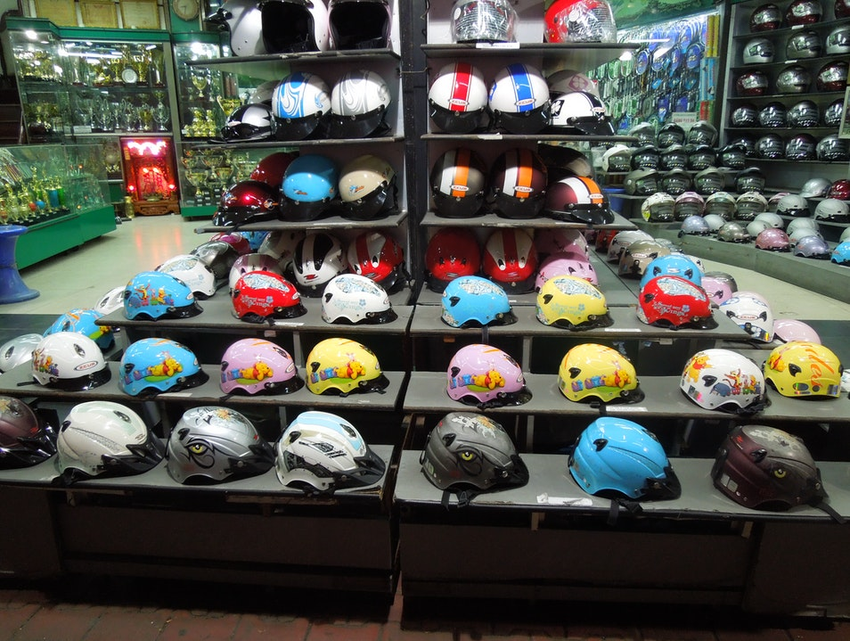 7 Million scooters = brisk business for helmets Ho Chi Minh City  Vietnam