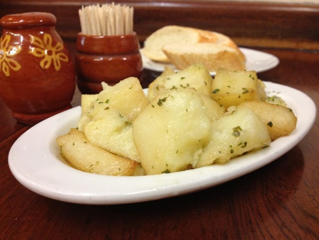 The City's Best Patatas al Ajillo