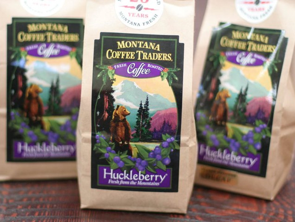 For Huckleberry Coffee Whitefish Montana United States
