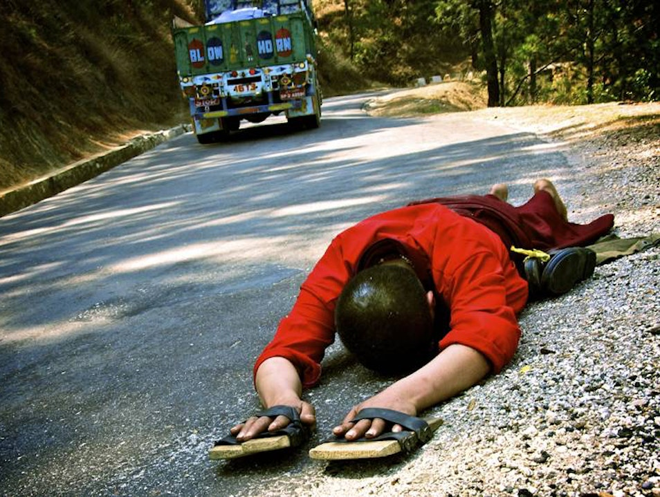 Paved with good intentions Thimphu  Bhutan