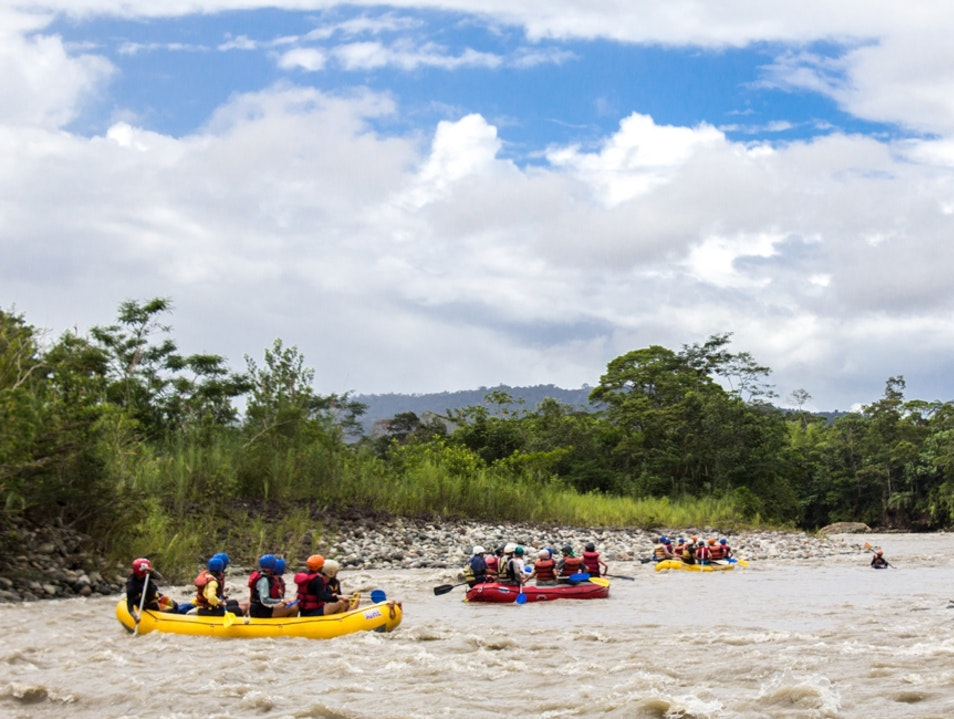 Cut Your Rafting Teeth at Jatunyacu Napo  Ecuador