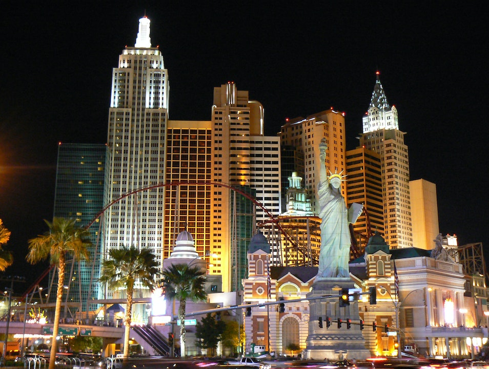 New York New York Hotel and Casino Las Vegas Nevada United States