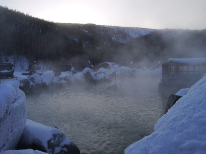 Chena Hot Springs Resort Fairbanks Alaska United States