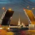 Palace Bridge St. Petersburg  Russia